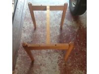 Cane babies crib with stand