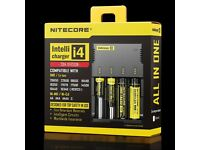 NIGHTCORE ECIG INTELLICHARGER BATTERY CHARGER (DIGITAL FULLY BOXED!)