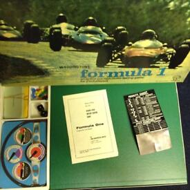 Retro Formula One Board Game