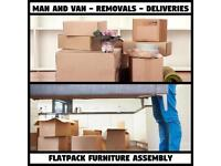 MAN & VAN **2&3 MEN SPECIALISTS** REMOVALS IKEA HOME DELIVERY FLATPACK FURNITURE ASSEMBLY