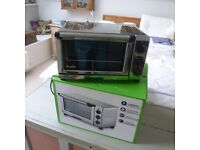 Dualit mini oven used once as new in box