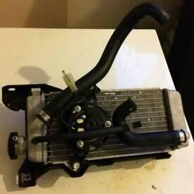 Yamaha WR125x radiator/ cooler