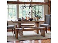 Reclaimed Wood industrial West Elm Dining Table - South East London