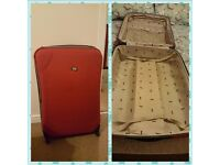 Fiore extra luggage suitcase with 4 wheels