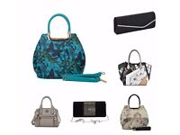 NEW LADIES HANDBAGS + CLUTCH PURSES