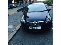 Black 5 door corsa mink condition