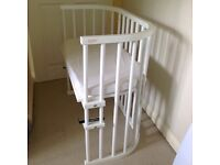 Baby bay side sleeper cot