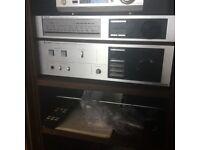 Trio A-7 stereo Amp/tuner