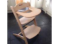 Scandinavian style high chair