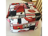 Lovely Brand NEW Large Soap & Glory Toilet Bag 30cms Square and 19cms Deep