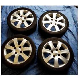 Mitsubishi colt cz rims wheels alloys 16