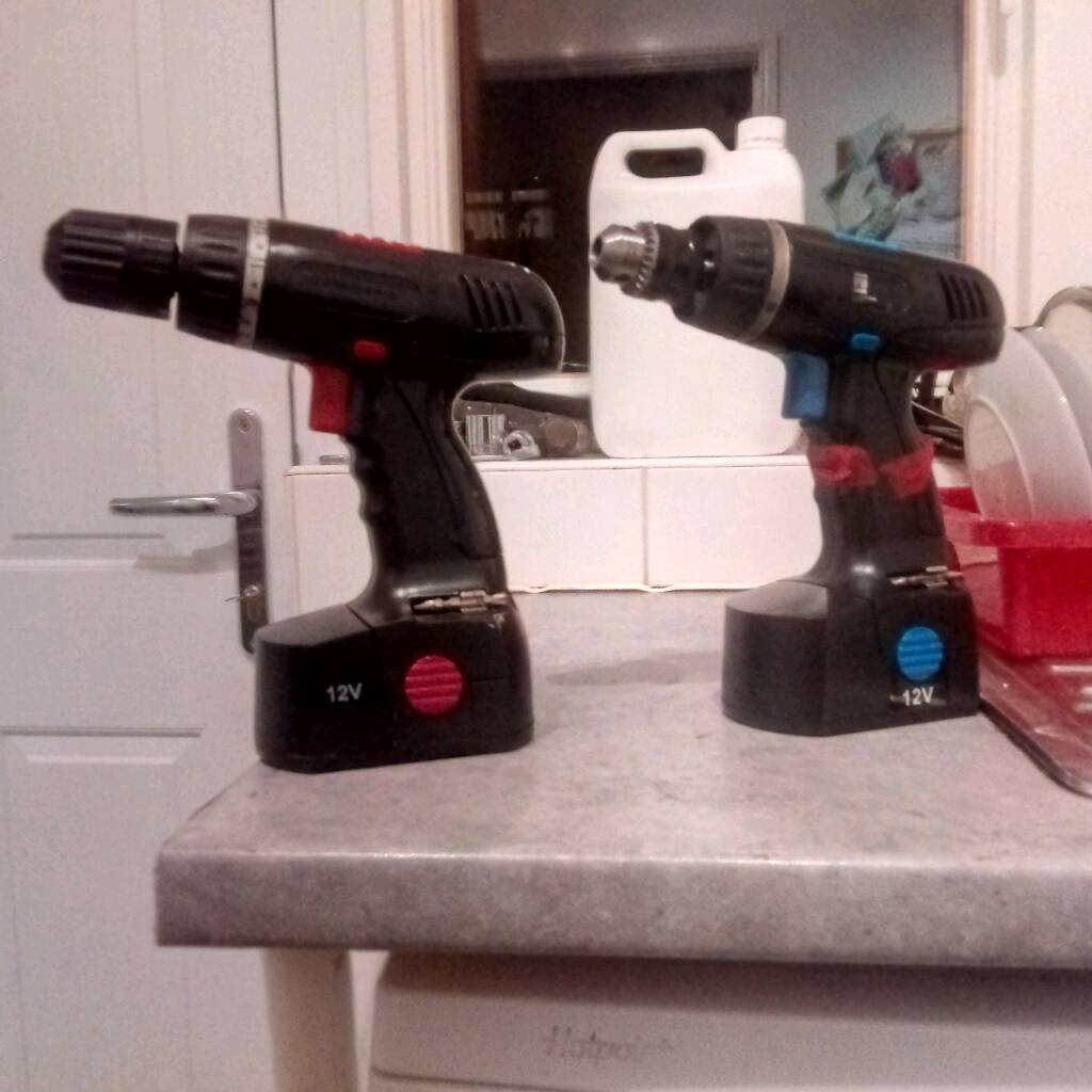 2 cordless drill