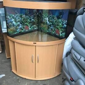 Juwel Trigon 190l corner fish tank Aquarium