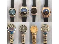 ROLEX HUBLOT AP AUDEMARS PIGUET BREITLING ARMANI WATCHES LONDON CHEAP NORTHWEST KILBURN HAMPSTEAD