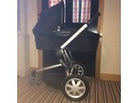 Quinny Buzz buggy & dreami carrycot travel system