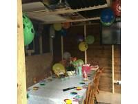Summer House or Log Cabin