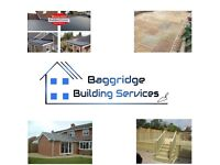 Baggridge Building Services - bricklaying , flat roofing , fencing , patios , slabbing , landscaping