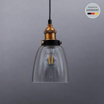 Retro Vintage Decken-Leuchte Edison Pendelleuchte Hänge-Lampe Industrie Design