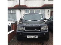 Range Rover sport 4.2 Supercharged ,private plate original available ent system,sat nav