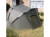 wychwood epic bivvy great condition only used 5 times heavy duty groundsheet all pegs carrybag