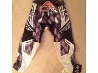 Fly racing kinetic kids size 22 motocross mx bmx dirt pants new with tags
