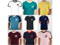 Wholesale 100X Mens Adidas Originals Crew Neck California Cotton Tee T-Shirt Top Size S M L XL