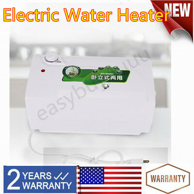 Electric Water Heater 0.05-0.6 Mpa Electric Bathroom House Tank with Drain Pipe