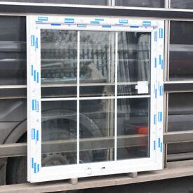 Glazed uPVC Casement Window | 1200w x 1260h | White