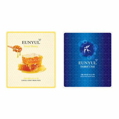 Eunyul Special Edition Mask Pack 2P Honey Facial Sheet Skin Care Korea Cosmetics