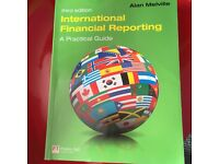 International Financial Reporting (Third Edition) Textbook by Melville