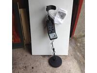 Metal detector.