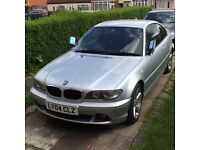 BMW 318 CI 2004 SEMI-AUTO FACELIFT CRYSTAL LIGHTS TWO KEYS M SPORTS STEERING BOOT ROOF SPOILER ALARM