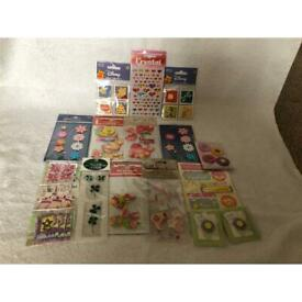 Stickers and embellishments was £8 now £5