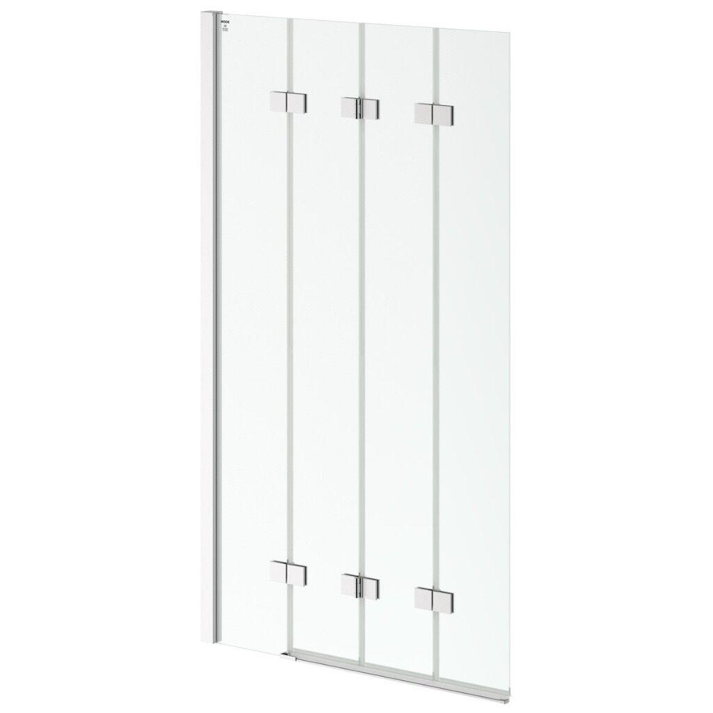 New Bath Shower Screen   Victoria Plum Mode Frameless 4 Panel Folding   Not  Used,