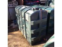 Oil tank cubes drums