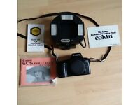 Canon EOS 1000FN and a Cokin creative Flash gun