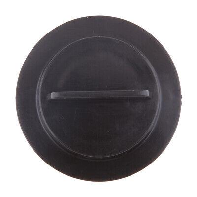 Black Universal Plastic Petrol Fuel Gas Can Stopper Cap Round Shape