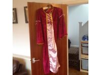 Tudor princess dressing up costume