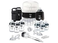 Tommee Tippee Closer to Nature Complete Feeding Set (Black - Special Edition)