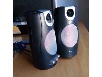 SP380 twin PC speakers.