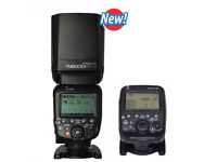 Yongnuo Flash for Canon & YN-E3-RT Transmitter for Canon Plus Extras