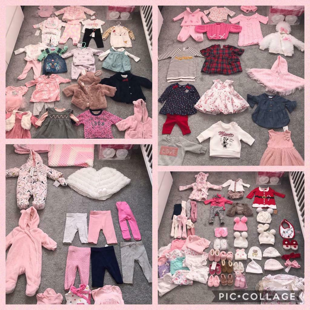 c87565cc0 Gorgeous baby girls clothes 0-3 months