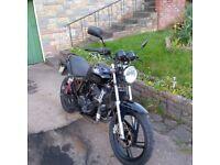 2009 AJS Nac 12 125cc - 12 Months MOT