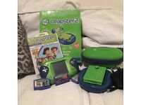 Leapster 2 Handset, plus case, plus AC Adapter charger plus 3 X games