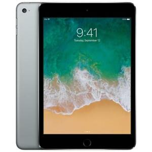 Apple iPad mini 4 128GB With Wi-Fi - Space Grey W/ 1 Year Full Apple Warranty Flat-$475