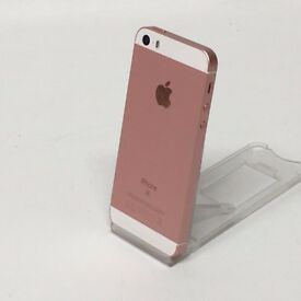 Vodafone iPhone SE [32gb] MINT condition - ROSE GOLD - cable and charger £190 ono