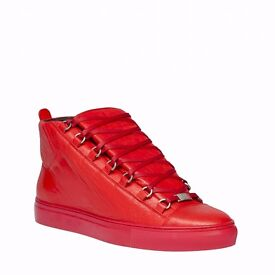 Brand New Red Balenciagas