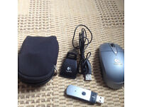 A quality Logitech wireless mouse, costs £45, quick sale at £10 first to see buys first to see buys