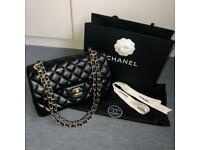 1b39a0c8ba1 CHANEL CLASSIC FLAP QUILTED BLACK WOMEN BAG