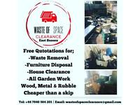 Rubbish clearance waste management